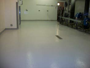 Belzona 5231 (SG Laminate) used to provide slip resistant kitchen flooring